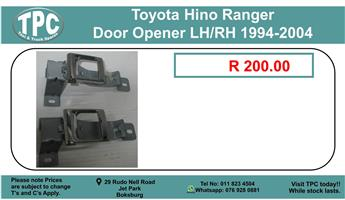 Toyota Hino Ranger Door Opener LH/RH 1994-2004 For Sale.