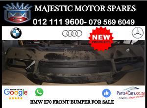 Bmw E70 front bumper for sale