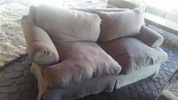 2 Seater gray couch