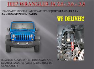 JEEP WRANGLER JK 2.8/3.6/3.8 SUSPENSION PARTS (FOR SALE)