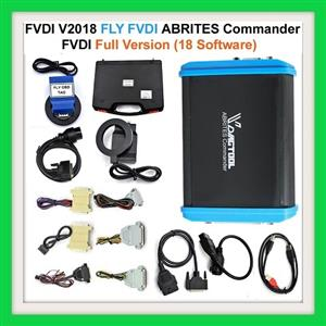 Key/ Ecu  Programmer, Mileage corrector, and diagnostic tool: Newest FVDI V2018 Original FLY FVDI ABRITES Commander Full Version