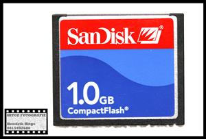 SanDisk 1GB Compact Flash