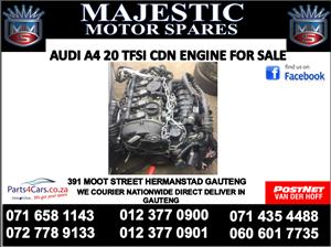 Audi A4 20 tfsi engine cdn for sale