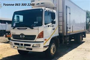 2006 Hino 15-258 Fridge Truck For Sale