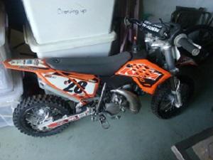 KTM 50 MOTOR BIKE FOR SALE