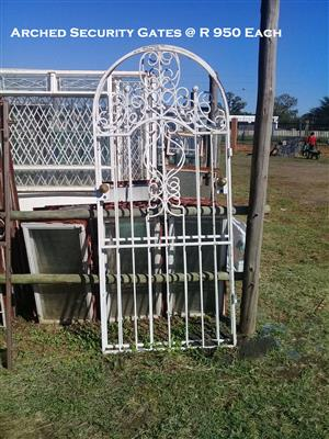 Arched Security Gate