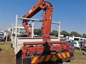 Selling a truck crane