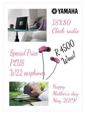 Spoil Mom with an amazing Yamaha clock radio, limited stock!!!
