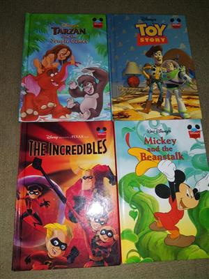 Various Disney story books for sale