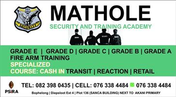 Get the best security training here at Mathole Academy.