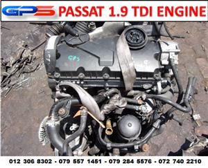 VW Passat 1.9 TDI Used Engine for Sale