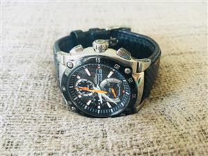 Seiko chronograph mens watch