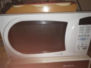LG touch screen microwave