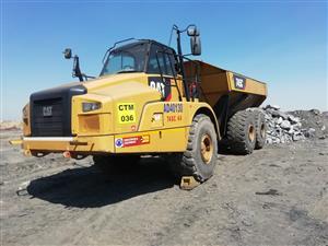 CAT 745C truck