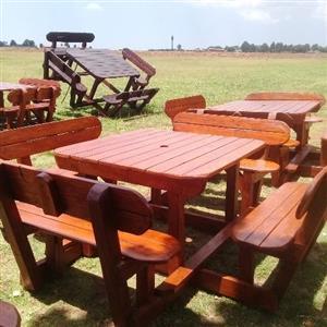 Garden Patio Tables and benches