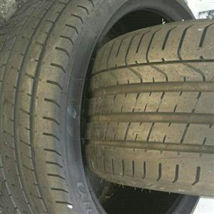 two tyres for BMW sizes 245/35/20 pierlli Run Flat now available