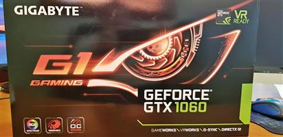 Gigabyte GeForce GTX1060 Graphics Card 6GB GDDR5 memory