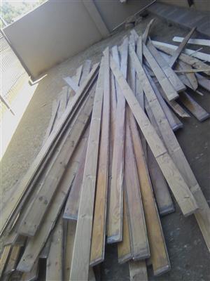 150mm wide Oregon floor planks for sale