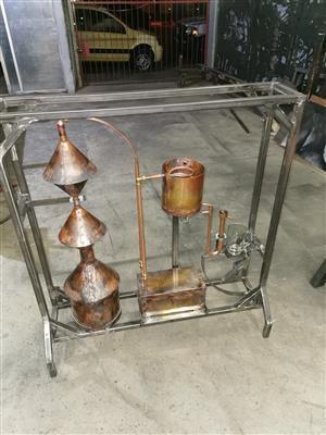 designer gin, whiskey etc alcohol still