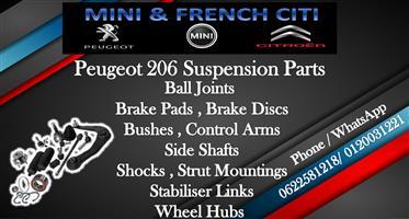 Peugeot 206 Suspension Parts