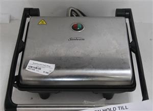 Sunbeam 4 slice sandwich press grey silver S037162B #Rosettenvillepawnshop