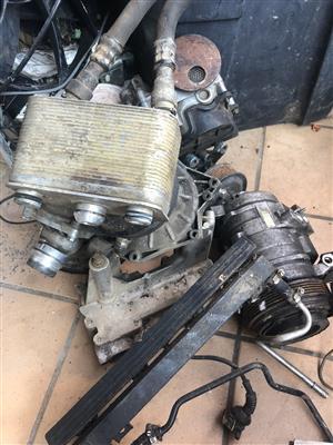 BMW X5 stripping