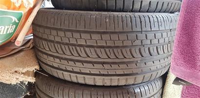 Two 225/35/19 wanli tires