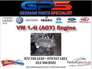 VW (AGY) 1.4i Engine for Sale