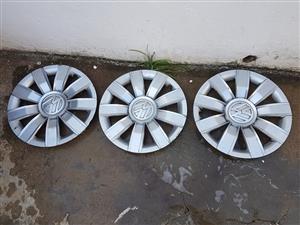 3 vw wheel caps