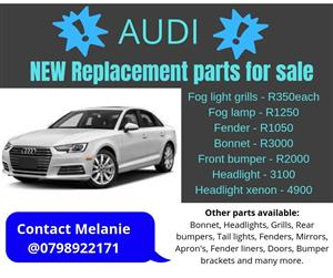 2013 Audi A4 B9 new spare parts