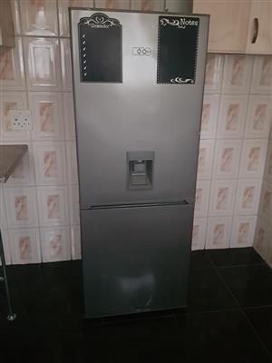 Dispenser silver fridge for sale