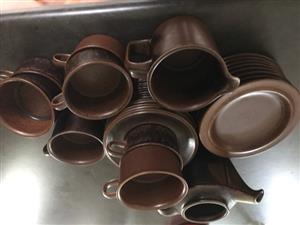 Coffee set Arabia Finnish Ceramic