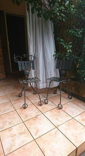 Wrought Iron Chair set
