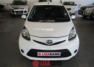 2013 Toyota Aygo 1.0