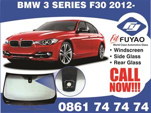 Windscreen for sale for BMW 3 Series F30 2012 with rain sensors #490128RC