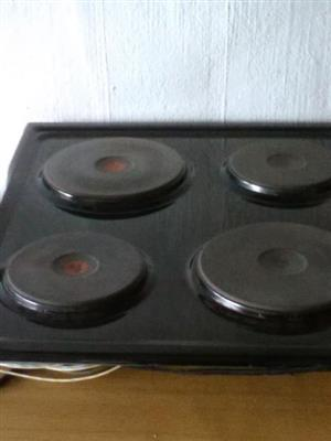 4 Plate oven hob for sale