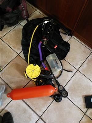Scuba diving gear for sale