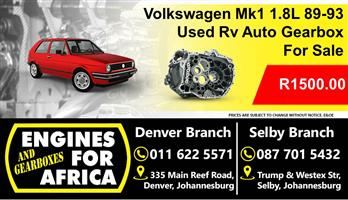 Used Vw Mk1 1.8L 89-93 Auto Gearbox For Sale