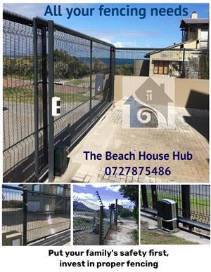 Fencing, Gates, Transportation, Small/Medium building projects (Construction)