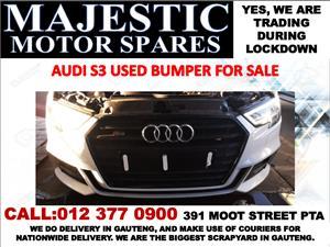 Audi S3 2.0 turbo used bumper for sale