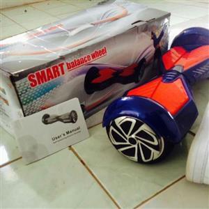 6.5 Hoverboard with Bluetooth Speakers, Bluetooth Key, and Led Lights