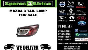 MAZDA 3 TAIL LAMP