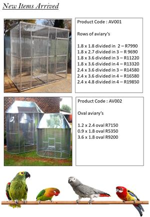 Aviary Cages