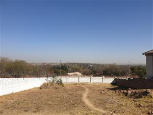 Stands at Waterkloof view forsale