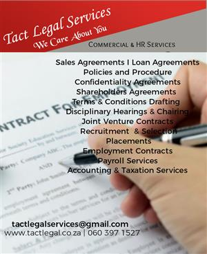 Tact Legal services Contract services
