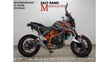 2014 KTM 690 Duke (finance available)