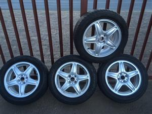 "Mags & Tyres 16"" 4x100PCD"