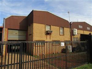 Power Attorney Auction Of A Double Volume Warehouse/Factory, Kirkney, Gauteng