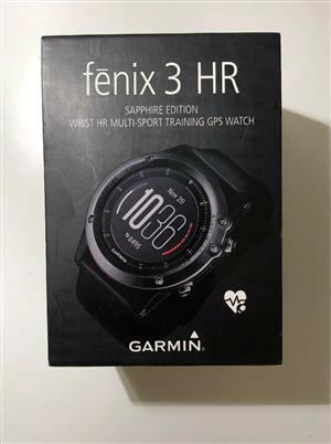 Garmin Fenix 3 HR Sapphire GPS Sports Watch