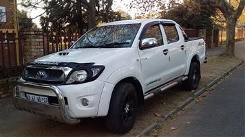 2011 Toyota Hilux double cab HILUX 3.0 D 4D RAIDER 4X4 A/T P/U D/C